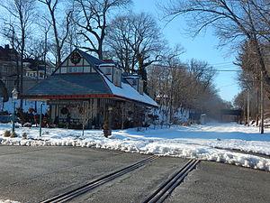 Benson Street station - The Benson Street station in February 2015.