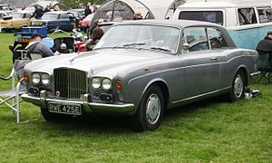 Bentley T-series - Image: Bentley T Coupé 6230cc registered January 1967