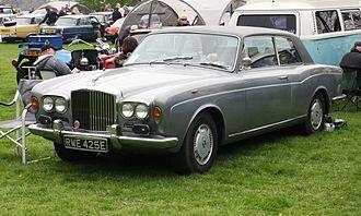 Bentley T-series - Image: Bentley T Coupé 6230cc registered January 1967