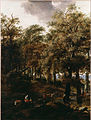 Berchem, Nicolaes Pietersz - A Road through a Wood - Google Art Project.jpg