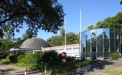 Berlin, Schoeneberg, Munsterdamm 90, Planetarium am Insulaner