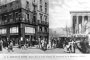 Bernheim-Jeune - Bernheim-Jeune, when at 25 Boulevard de la Madeleine, Paris, 1910