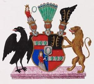 Bernstorff - Arms of the Counts of Bernstorff