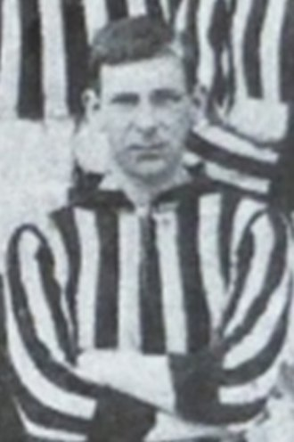 Bert Powell - Powell while with New Brompton in 1908.