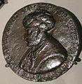 Bertoldo di giovanni, medaglia di mehmet II, 1480-81.JPG