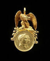 "Bertrand Andrieu - Decoration Commemorating the Birth of the ""King of Rome"" - Walters 57951.jpg"