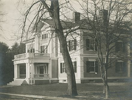 Dartmouth Beta House Circa 1920 Would Later Become Home To The Tucker Foundation