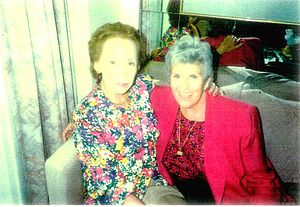 Elaine Anderson Steinbeck - Elaine Steinbeck(left)  and the American painter Betty Guy