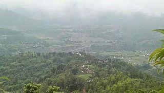 Bhattarai Danda City in Chapakot, Nepal