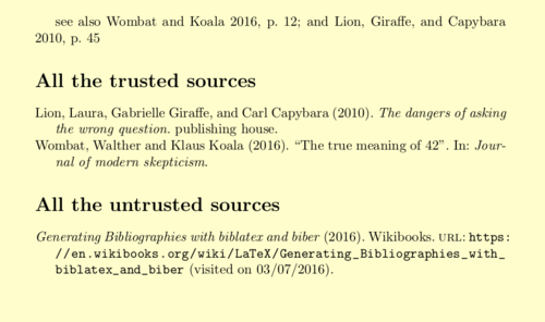 LaTeX/Bibliographies with biblatex and biber - Wikibooks