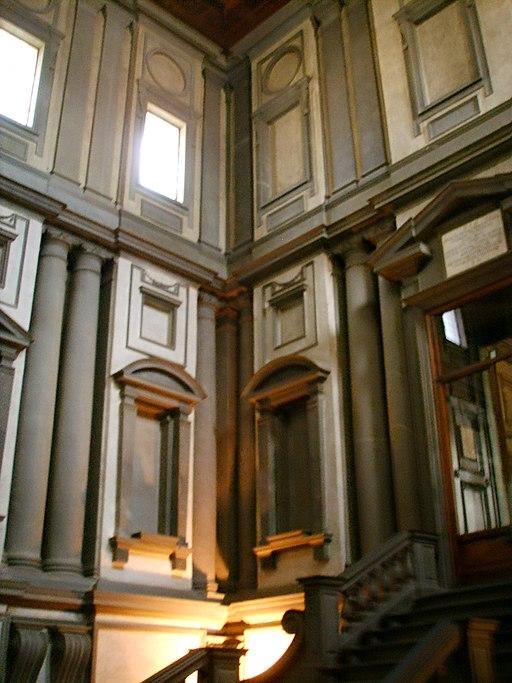 Biblioteca mMdicea Laurenziana, vestibolo