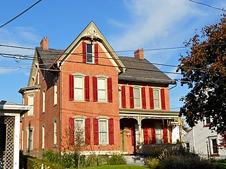 Biery's Port Historic District - Image: Biery's Port Lehigh Co PA 2