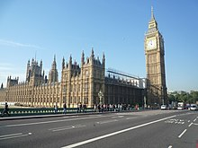 Big Ben,Westminster Bridge Road, Westminster, London - panoramio.jpg