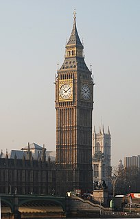 Turret clock Large prominently located clock used as a public amenity