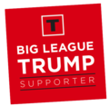 Big League Trump Supporter sticker.png