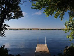 Big Stone Lake fishing dock.JPG