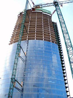 English: Torre Iberdrola, en Bilbao. Imagen to...
