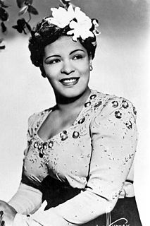 Billie Holiday American jazz singer and songwriter