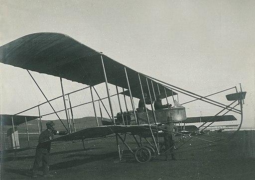 Biplane Maurice Farman 7 Longhorn Preveza 1912