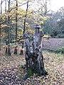 Birch sculpture - geograph.org.uk - 306862.jpg