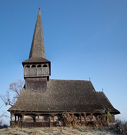 Wooden church of Sânmihaiu Almaşului