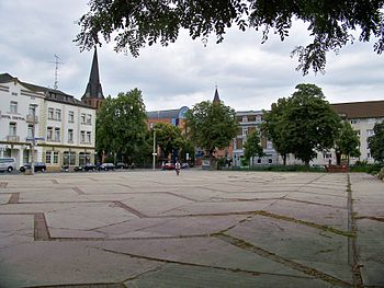 Deutsch: Robert-Schumann-Platz in Bitterfeld