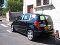 Black Mercedes A170 W169 side.JPG