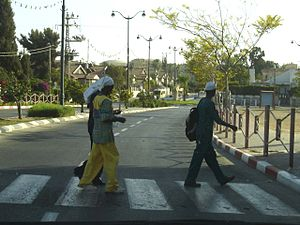 African Hebrew Israelites of Jerusalem - A group of African Hebrew Israelites in Dimona, Israel.