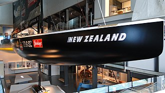 NZL 32 - NZL 32 on display at New Zealand Maritime Museum, Auckland