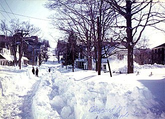 1978 in the United States - Image: Blizzardof 78Maple St