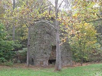 Bloomery, Hampshire County, West Virginia - Bloomery Iron Furnace