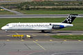 Blue1 (Star Alliance Livery), OH-BLN, Boeing 717-2K9 (16268837298).jpg