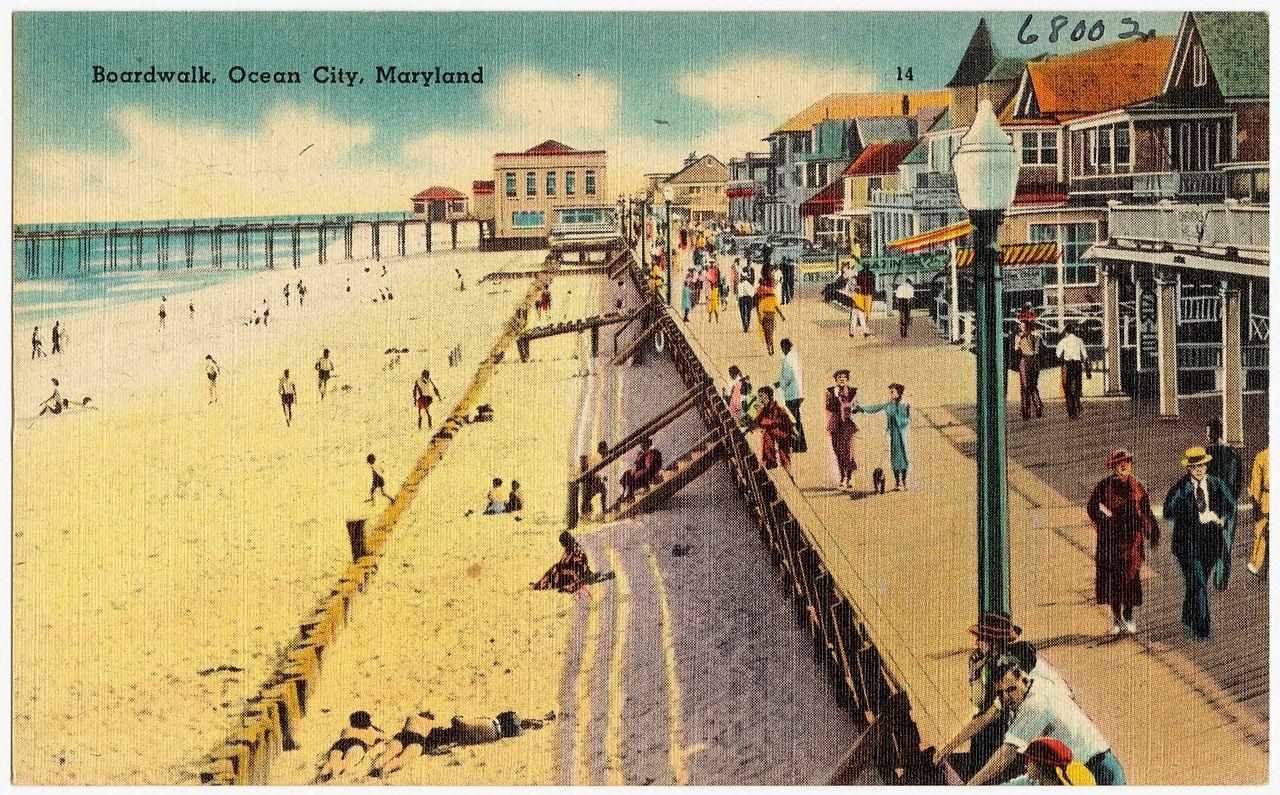 Ocean City Md Senior Week Dates