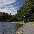 Boating lake walkway, Sefton Park, Liverpool - geograph.org.uk - 2540435.jpg