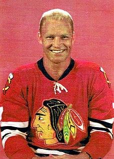 Bobby Hull Canadian ice hockey player