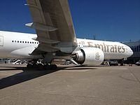 A6-EBE - B77W - Emirates