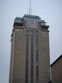 Boekentoren Gent south-west.JPG