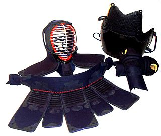 Training armor worn in kendo