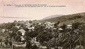 View of Boma in c.1900