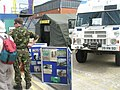 """Bomb disposal display at the 2008 """"Meet the Navy"""" weekend within Portsmouth Dockyard - geograph.org.uk - 900472.jpg"""