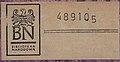 """Bookplate, """"Biblioteka Narodowa"""" exlibris - PL Żmigrodzki - Historja swastyki (page 41 crop).jpg"""