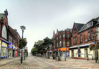 Goole - Boothferry Road, the main shopping street