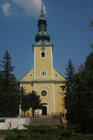 Borský Mikuláš - Image: Borsky mikulas church