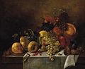 Borsos Still life with fruits and mushroom 1840s.jpg