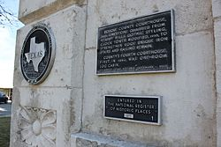 Photo of Black plaque number 13568