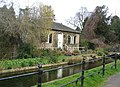 Botanic Gardens cottage and Hobson's Brook - geograph.org.uk - 709211.jpg