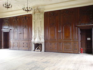 Schloss Bothmer - Interior prior to the renovation