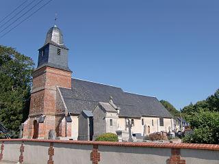 Boulleville Commune in Normandy, France