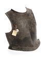 Bröstharnesk, 1600-tal - Livrustkammaren - 107119.tif