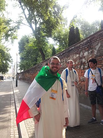 World Youth Day 2016 - Br Joseph Maria OSPPE at World Youth Day 2016 in Cracow, Poland.